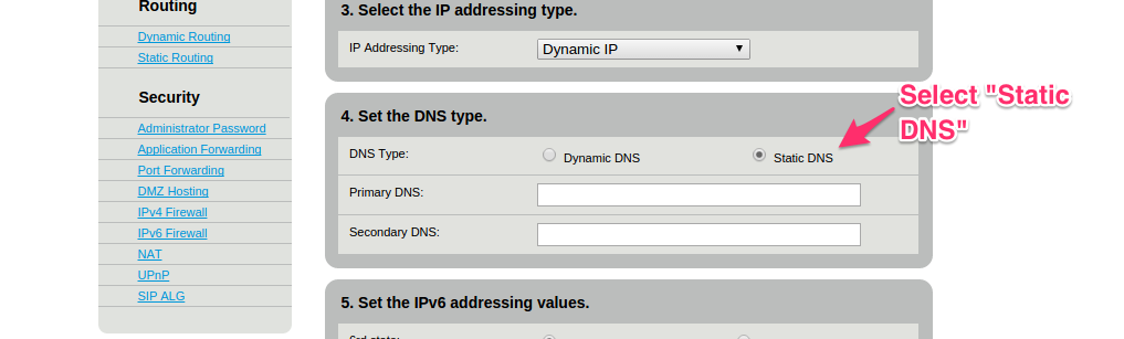 How to change DNS, add CleanBrowsing, on a CenturyLink router