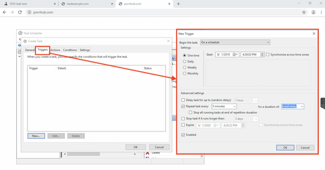 Configure CleanBrowsing with Dynamic IPs on Windows
