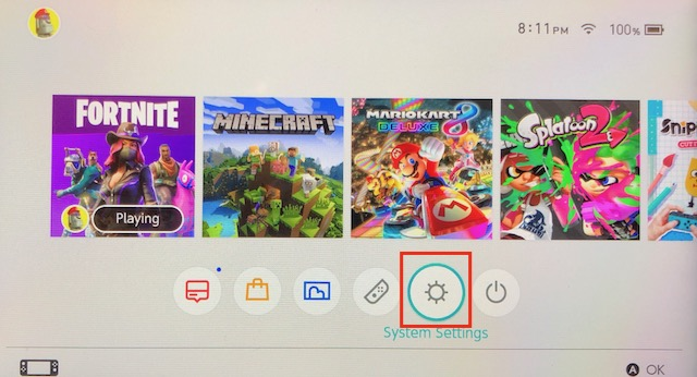 How to change DNS, add CleanBrowsing, on a Nintendo Switch