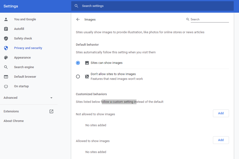 CleanBrowsing-Chrome-Settings
